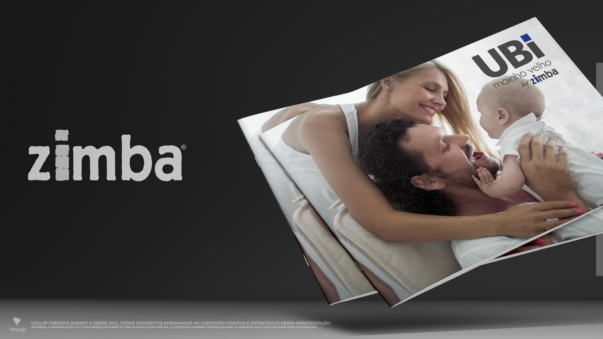 Folhetão de lançamento Zimba