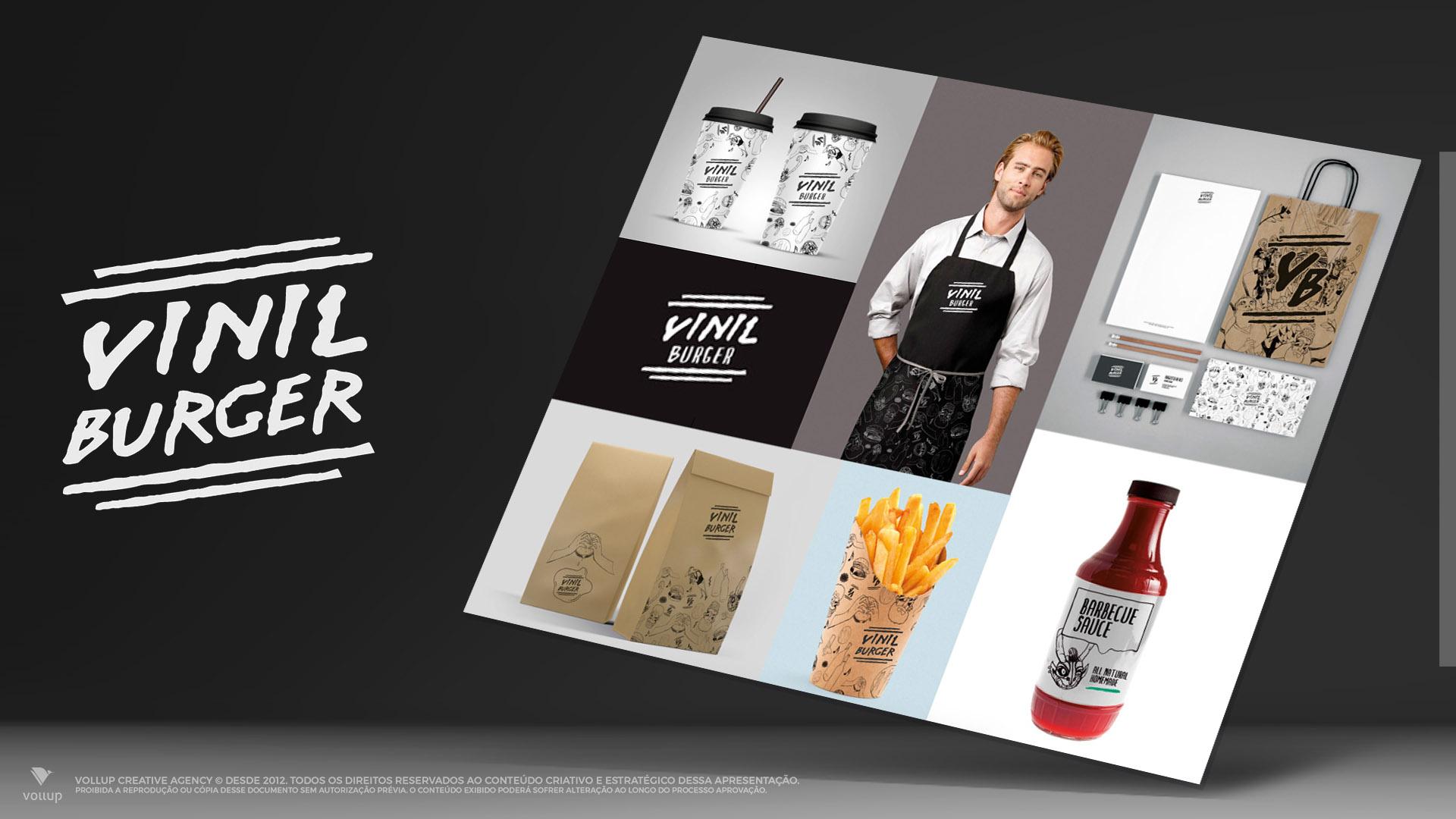 Branding Vinil Burger