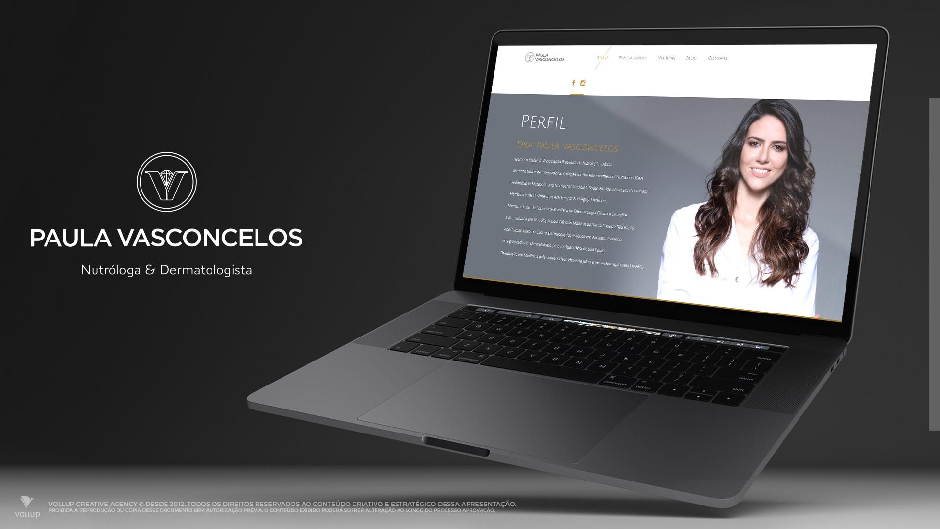 Site Paula Vasconcelos