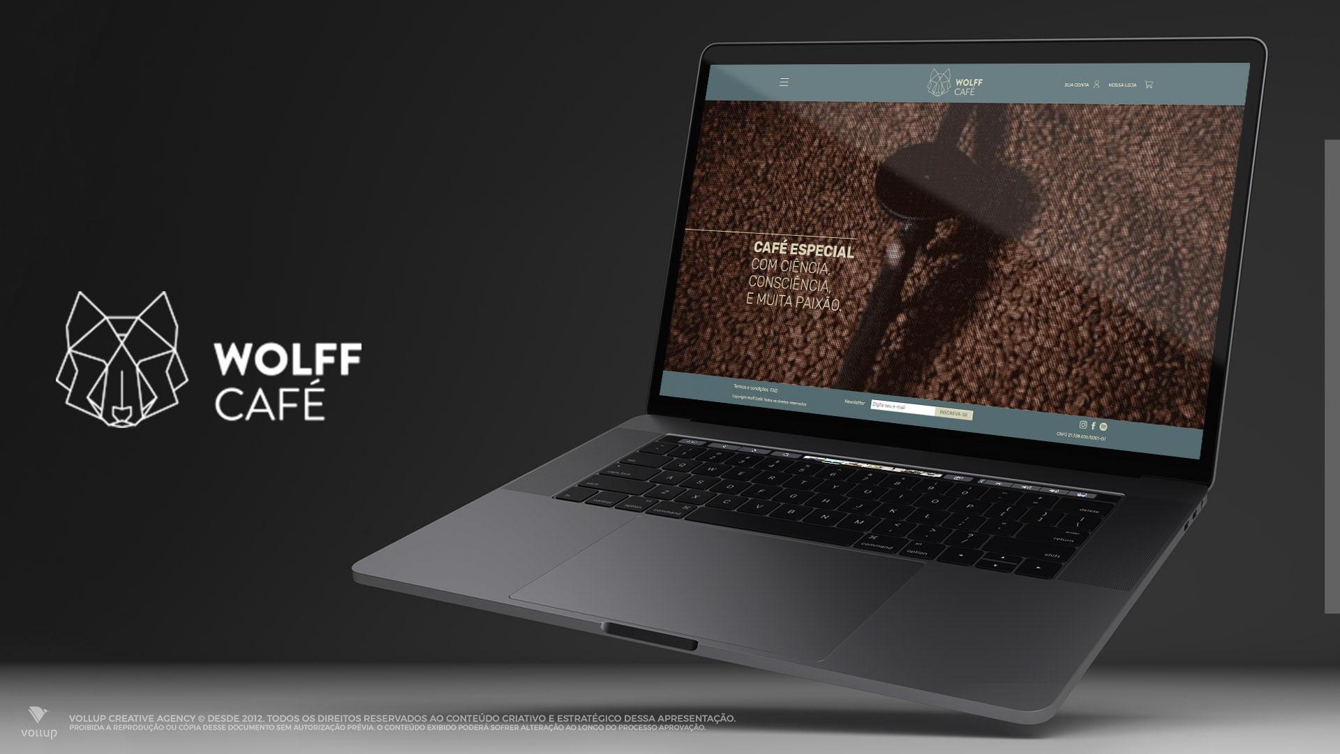 Site Wolff Café